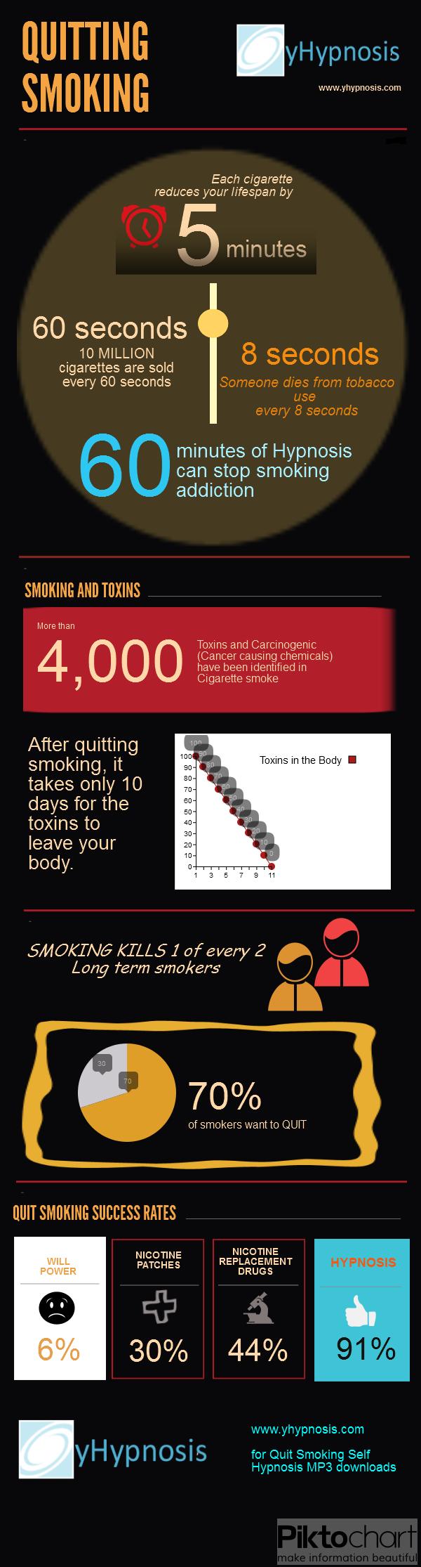 Quitting Smoking Infographic