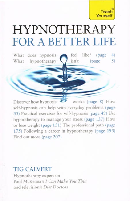 Book: Teach Yourself Hypnotherapy for a Better Life